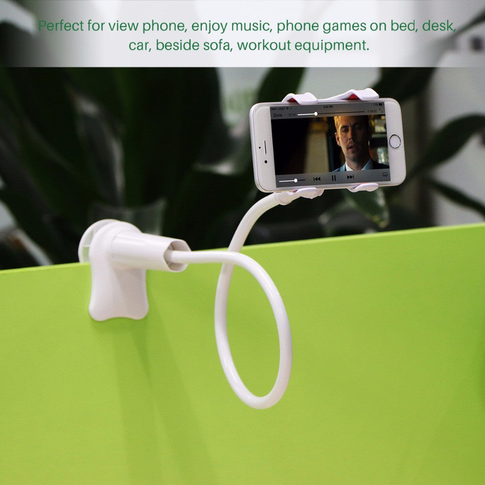 Flexible Long Arm Phone Holder - Paradisegadgets.com