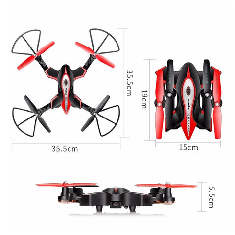 RC Drone - Foldable with HD WIFI Camera - Paradisegadgets.com