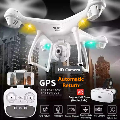 2.4GHz Drone with 1080P HD Camera + Wifi - Paradisegadgets.com