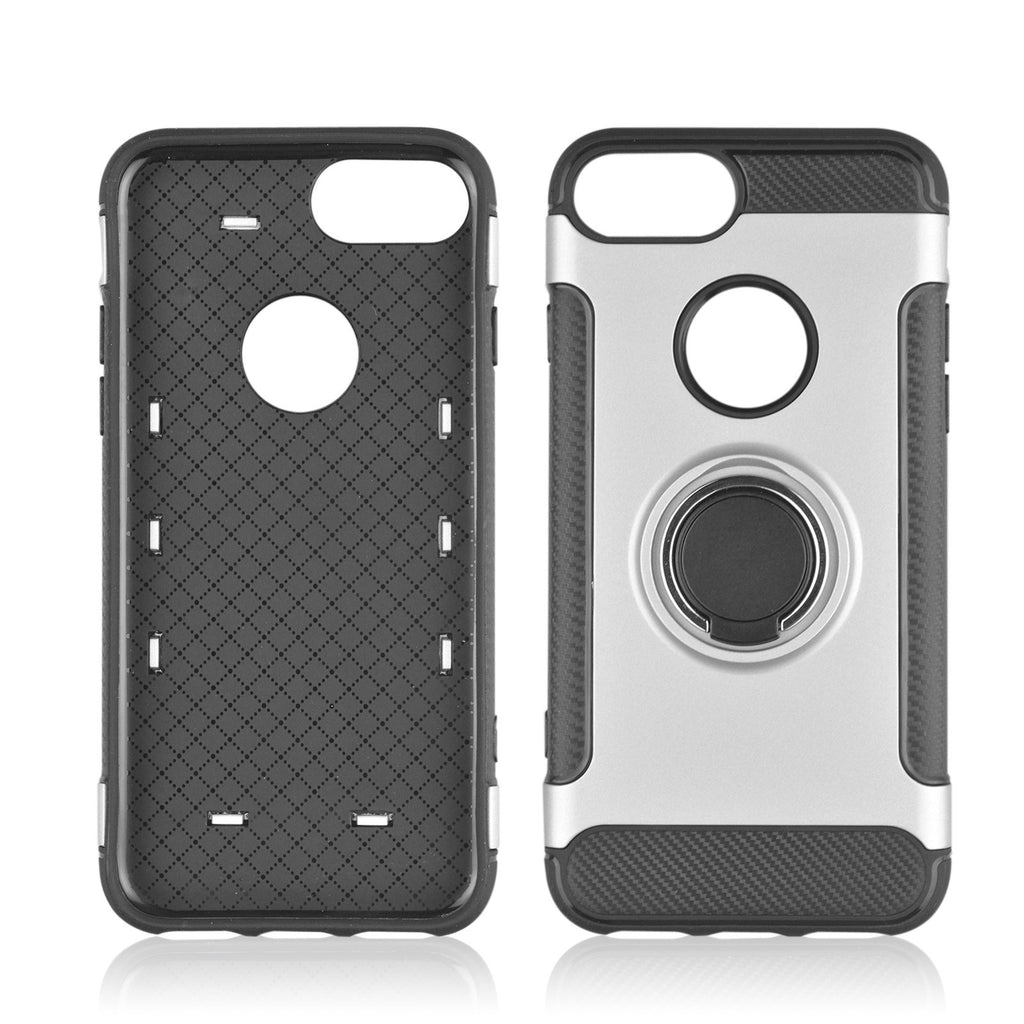 IPhone X 8 7 6S 6 Plus Cover with 360 Rotate Ring Holder - Paradisegadgets.com