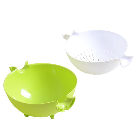 2-in-1 Strainer & Bowl Sets - Paradisegadgets.com