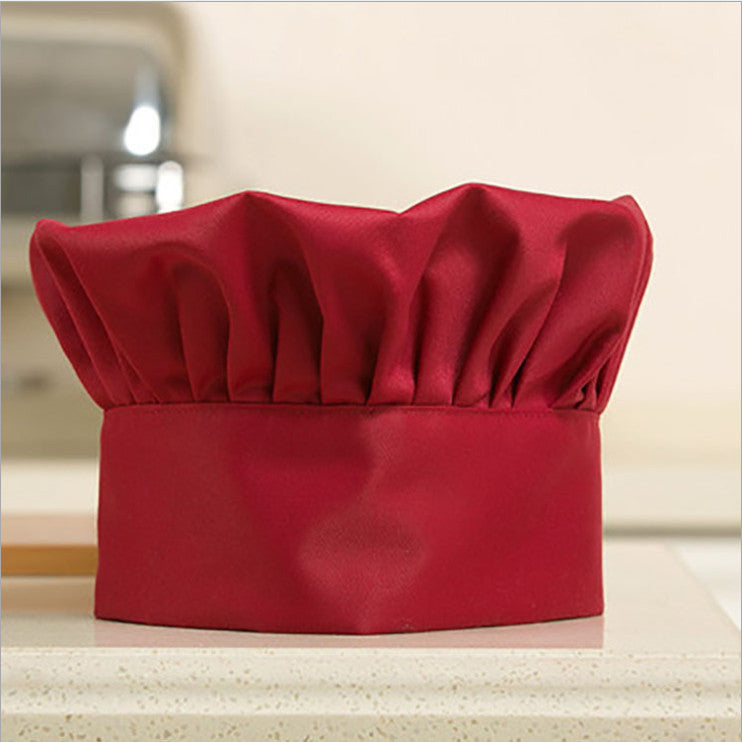 Chef Hat Adult Adjustable Elastic - Paradisegadgets.com