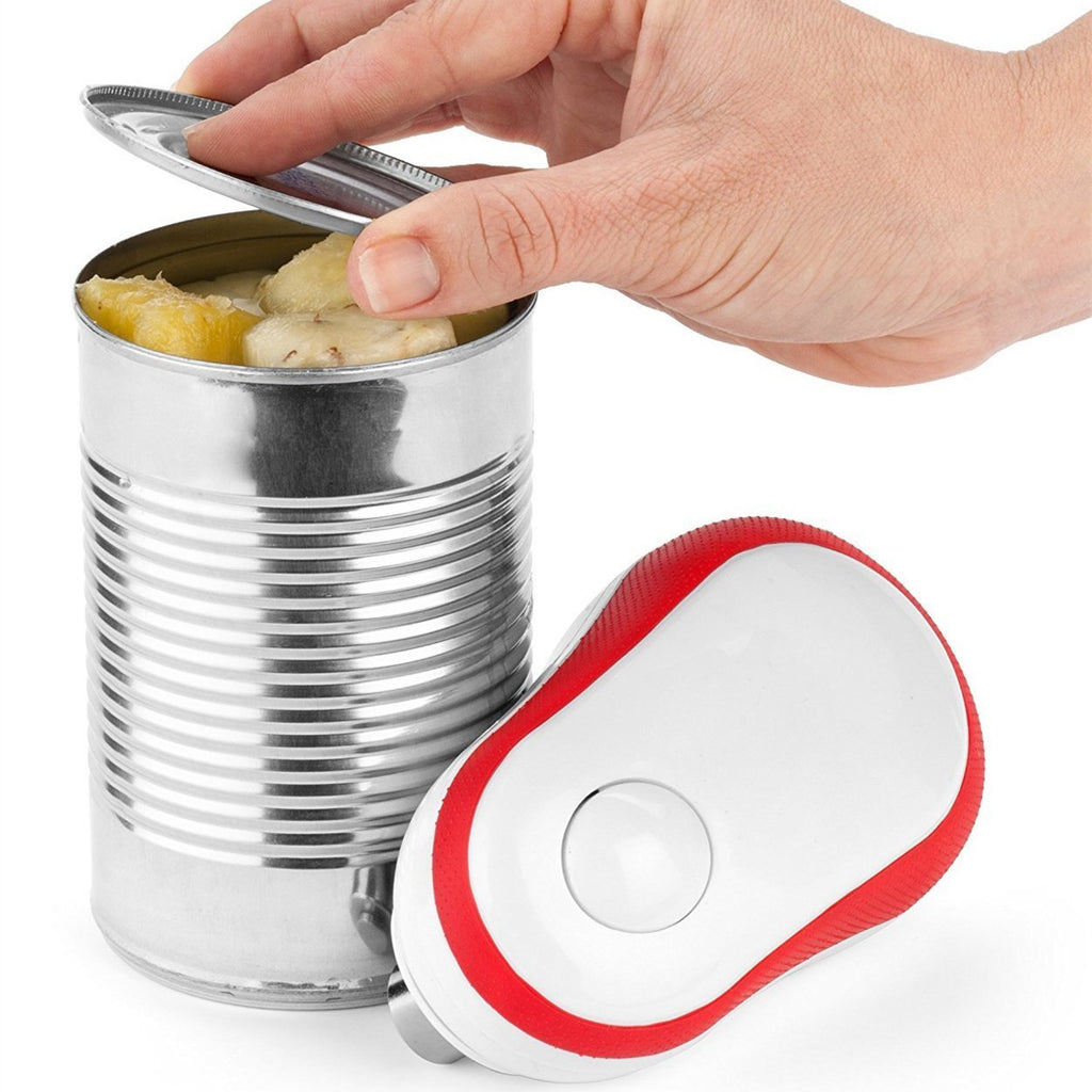 One Touch Electric Can Opener with Auto-Stop - Paradisegadgets.com