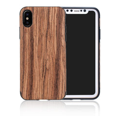 iPhone Wooden Cover - With Screen Protector - Paradisegadgets.com