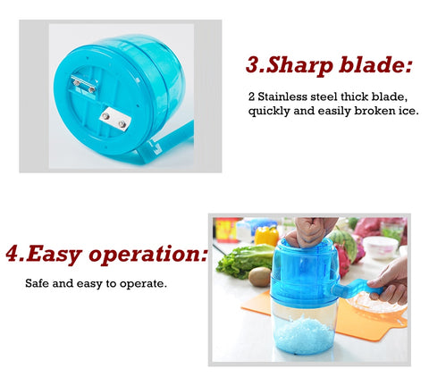 Manual Slush Ice Maker - Paradisegadgets.com