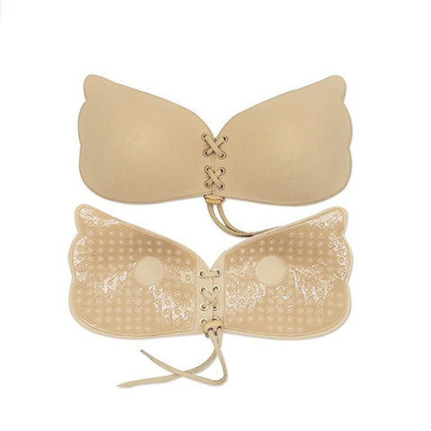 Strapless Drawstrings Push Up Bra - Paradisegadgets.com