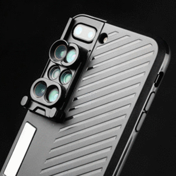 6-in-1 Lens Kit for iPhone 7 Plus - Paradisegadgets.com