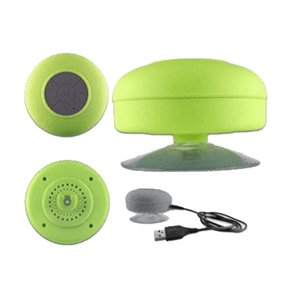 Bluetooth Shower Speaker - Assorted Colors - Paradisegadgets.com