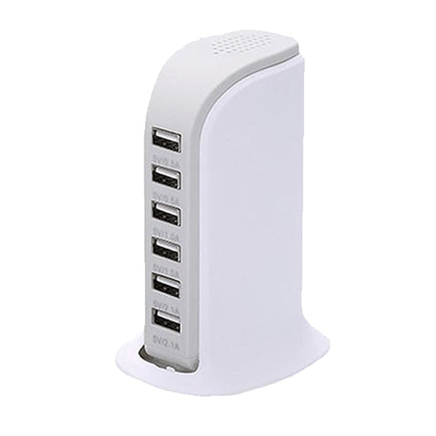 6-Port USB Charging Station - Paradisegadgets.com