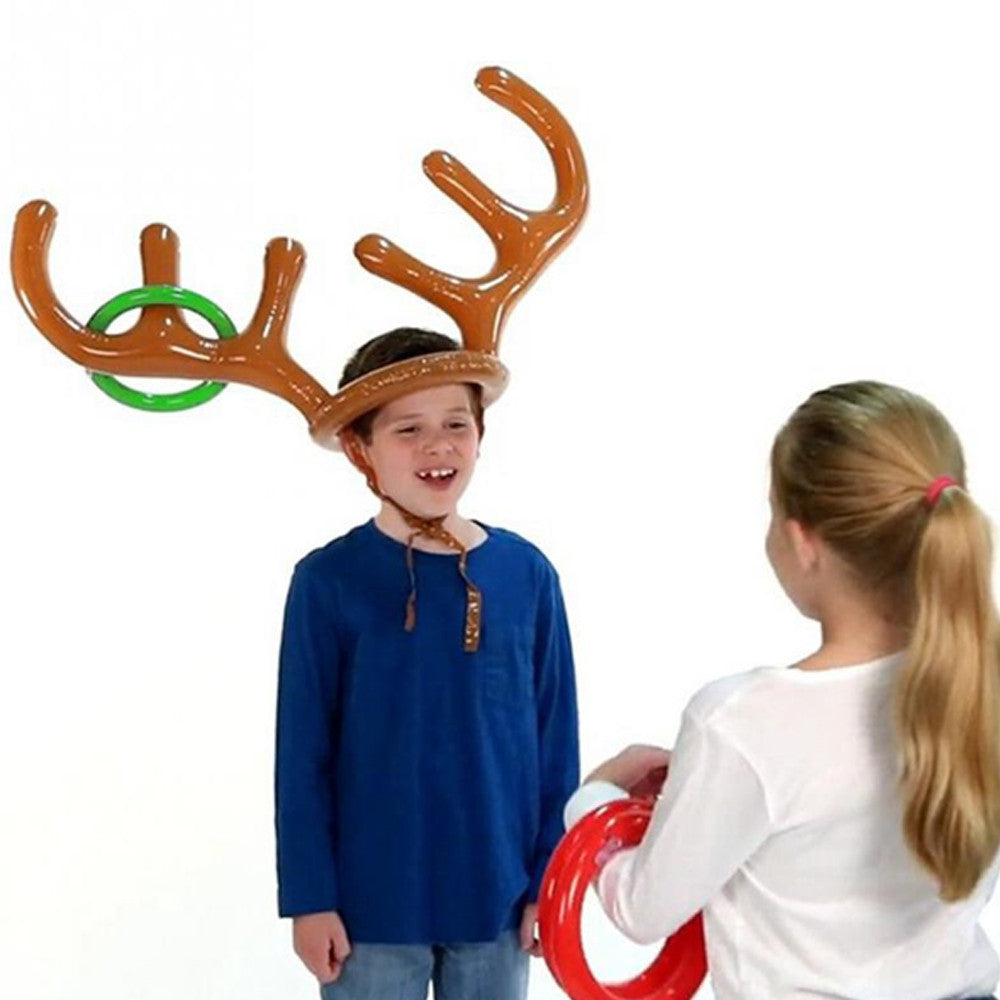 Inflatable Reindeer Party Game - Paradisegadgets.com