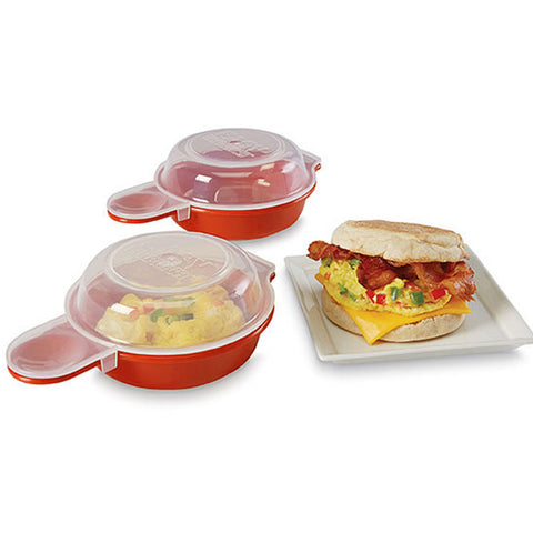 2-Pack Easy Microwave Egg Cooker - Paradisegadgets.com