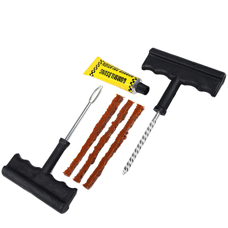 Tire Repair Kit For Cars/Bikes - Paradisegadgets.com