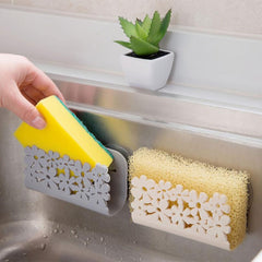 Beautiful Kitchen Sink Suction Sponge Holder - Paradisegadgets.com