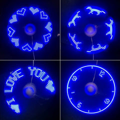 Flexible USB Fan LED Light/Display