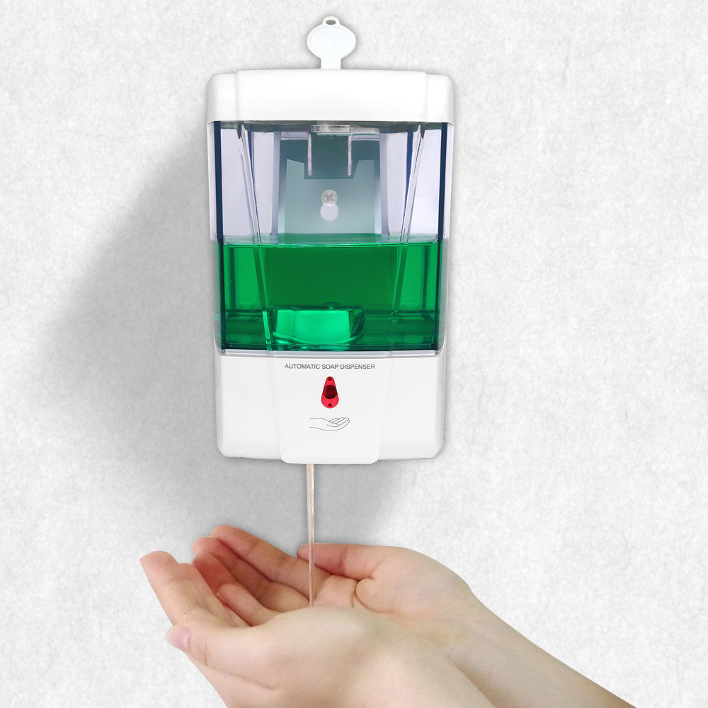 Battery Powered 600ml Wall-Mount Automatic Sensor Soap Dispenser - Paradisegadgets.com