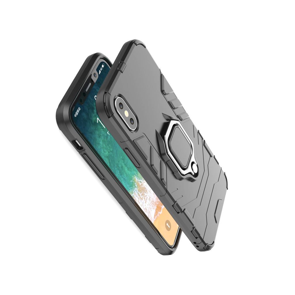 iPhone - Heavy Duty Rugged Ring Holder Cover - Paradisegadgets.com