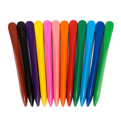 12 Color Non-Toxic Washable Crayon Sticks - Paradisegadgets.com