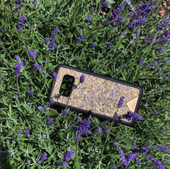 iPhone/Samsung - Organika Lavender Phone Cover