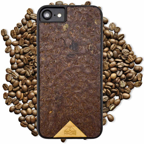 iPhone/Samsung - Organika Coffee Phone Cover - Paradisegadgets.com
