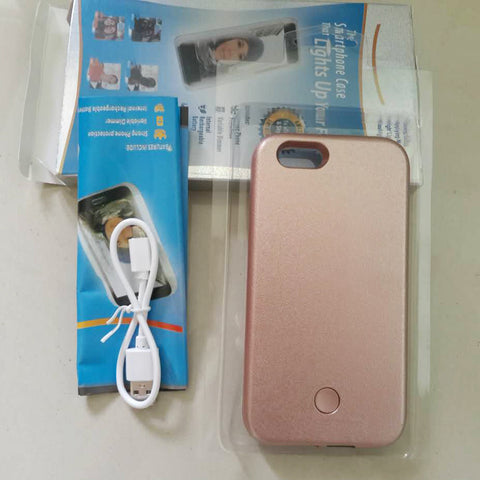 iPhone - Luxury LED Selfie Phone Cover - Paradisegadgets.com