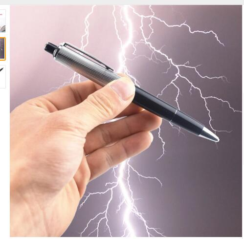 Electric Shock Pen Toy For Funny Pranks - Paradisegadgets.com