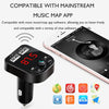 Image of Car Bluetooth 5.0 Handsfree Wireless FM Transmitter - Paradisegadgets.com