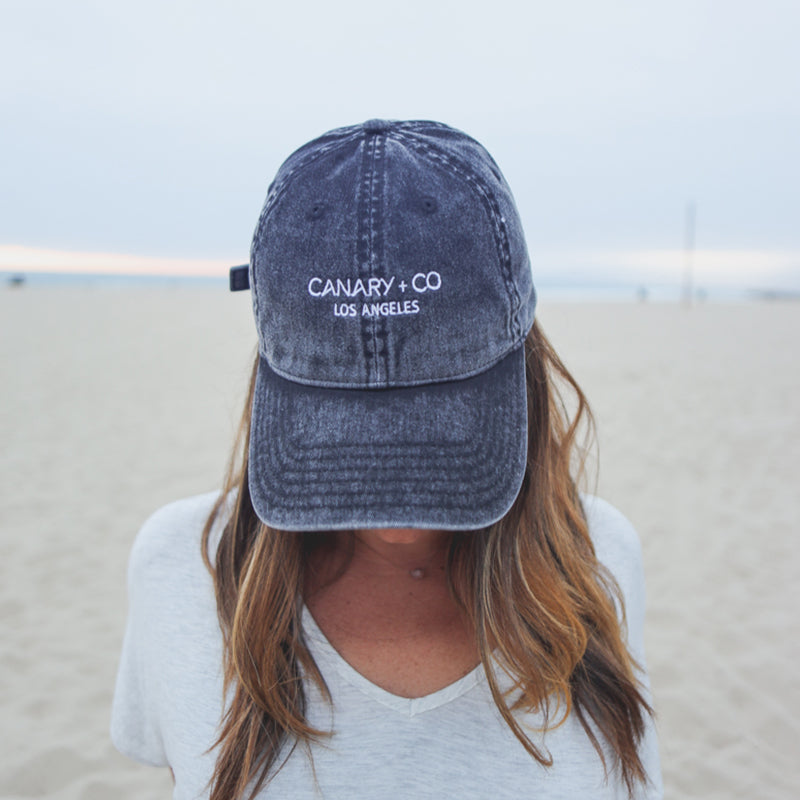 Canary + Co Embroidered Hat