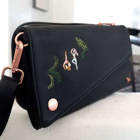 *Limited Edition* Embroidered V.I.Pouch-  SiwooInParis