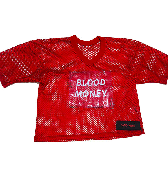 BLOOD MONEY MESH JERSEY (M/L)