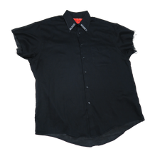 Load image into Gallery viewer, MORE MONEY REFLECTIVE BUTTON UP (XL)