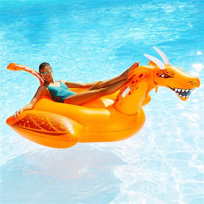 Lite Up! Scorch-the- Dragon LED Pool Float