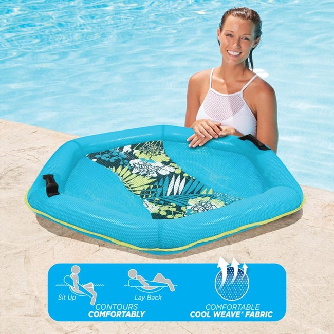 Deluxe Water Lounge Chair, Antigua Multi