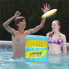 Hydro Disc Jam Inflatable Frisbee and Cans