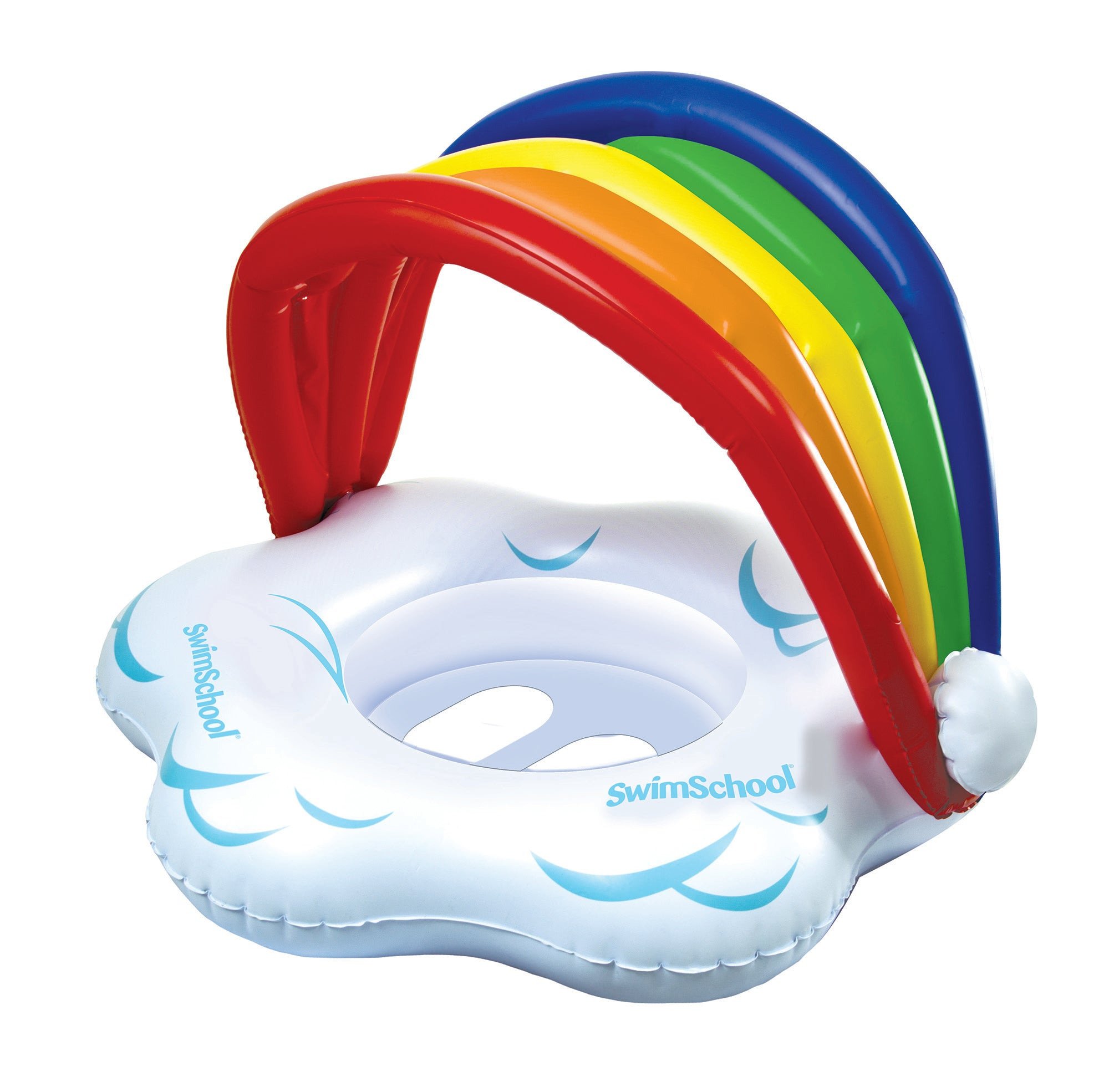 My Rainbow BabyBoat® with Adjustable Seat & Sunshade