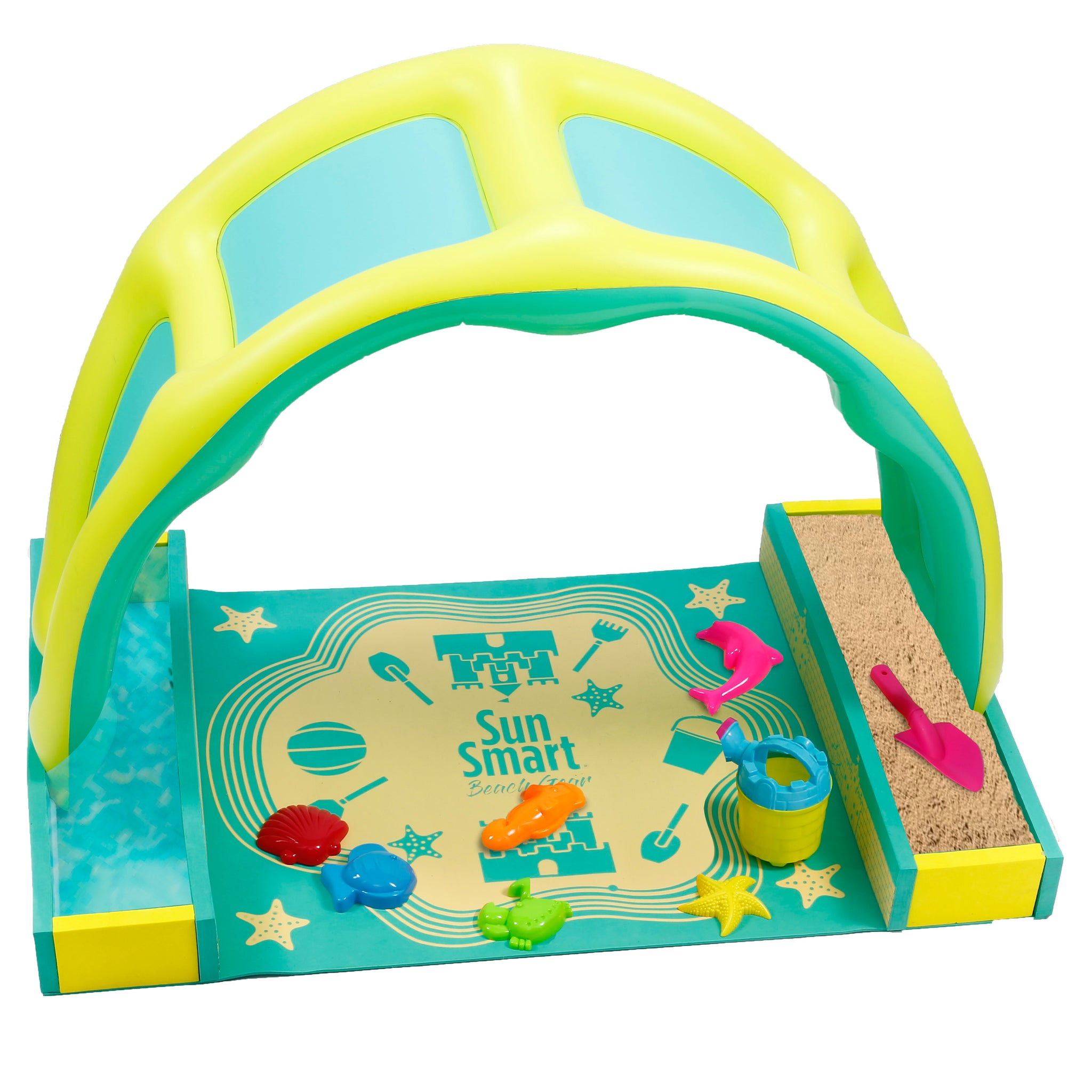 Take-Along Beach-Time Play Set with Canopy