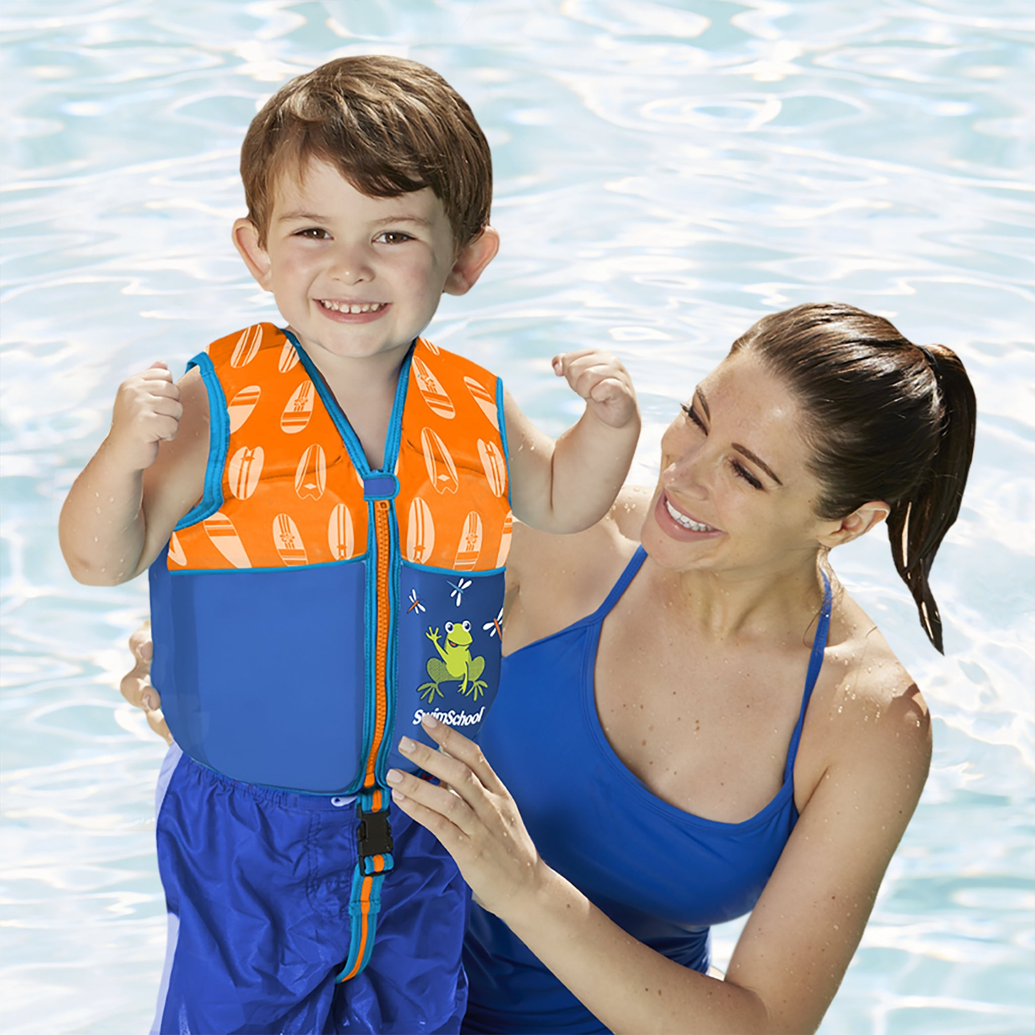 Deluxe TODDLER Swim Trainer with Safety Strap
