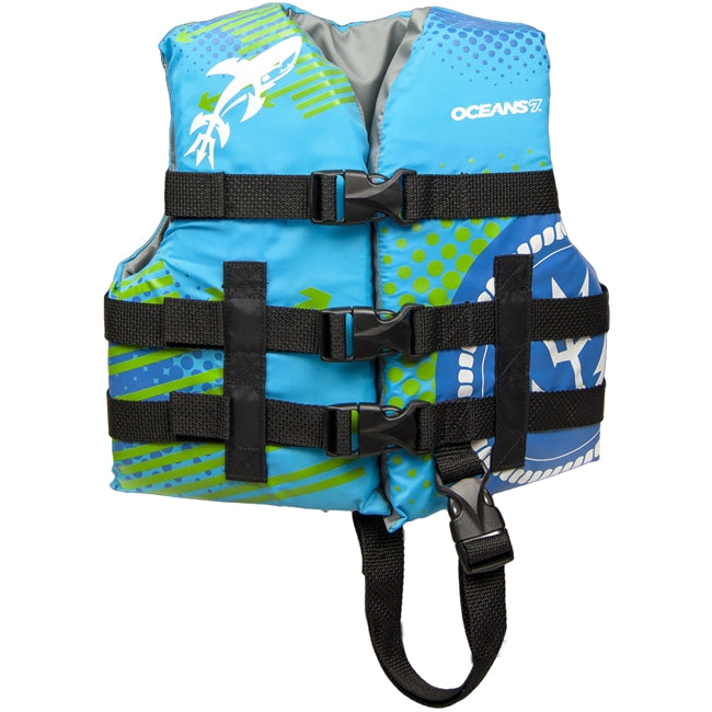 USCG Childs Life Vest Type III - Blue/Green