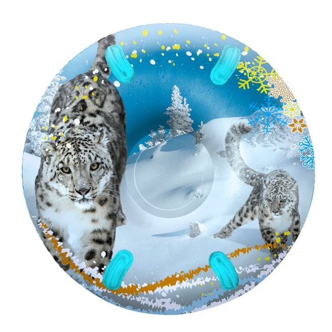 "3D MEGA 48"" Sno-Tube - Snow Leopards"