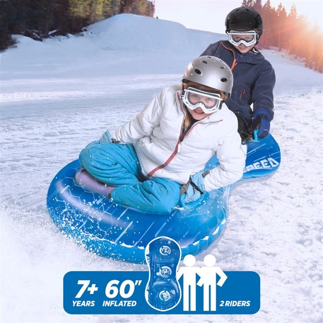 "3D MEGA 60"" Sno-Tube - DUO Electron Blue"