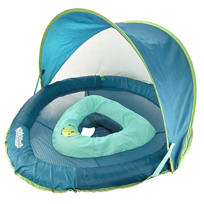 Perfect Fit Fabric Baby Boat with Retractable Canopy