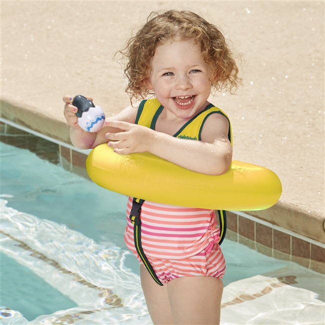 Deluxe Tot Trainer with Safety Strap - Yellow
