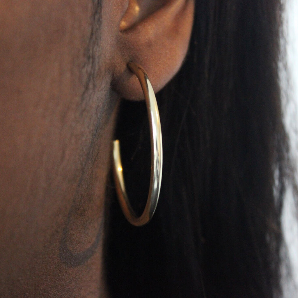 Briana hoop earrings