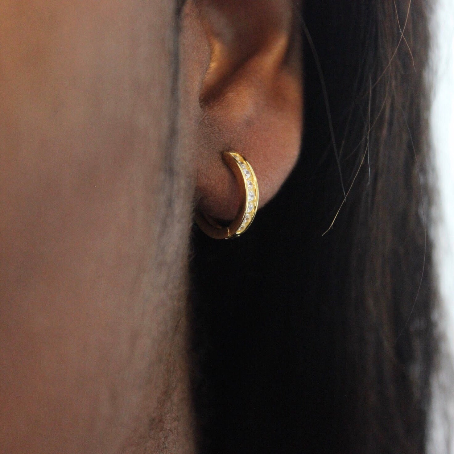 Ciara hoop earrings
