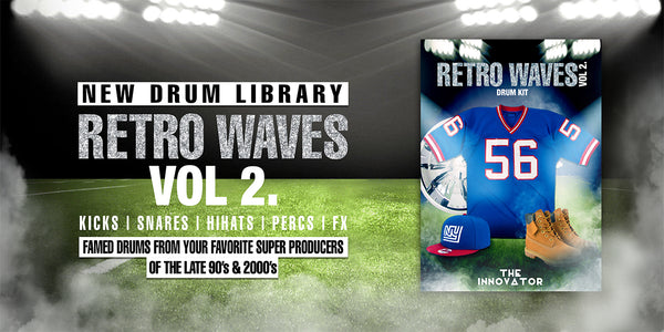 Retro Waves Vol. 2 Drum kit | Boom Bap Drums | iamtheinnovator com