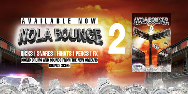 New Orleans Bounce Drum Kit 2