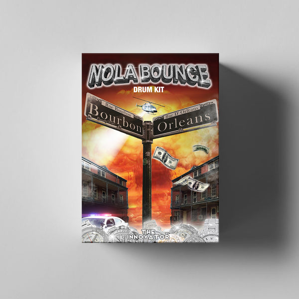 New Orleans Bounce Drum Kit - Iamtheinnovator.com