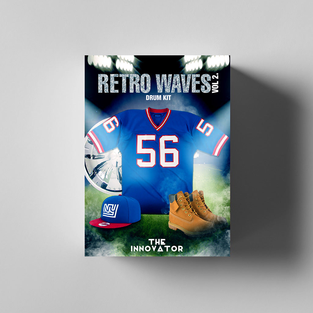 Retro Waves Vol. 2 Drum Kit - Iamtheinnovator.com