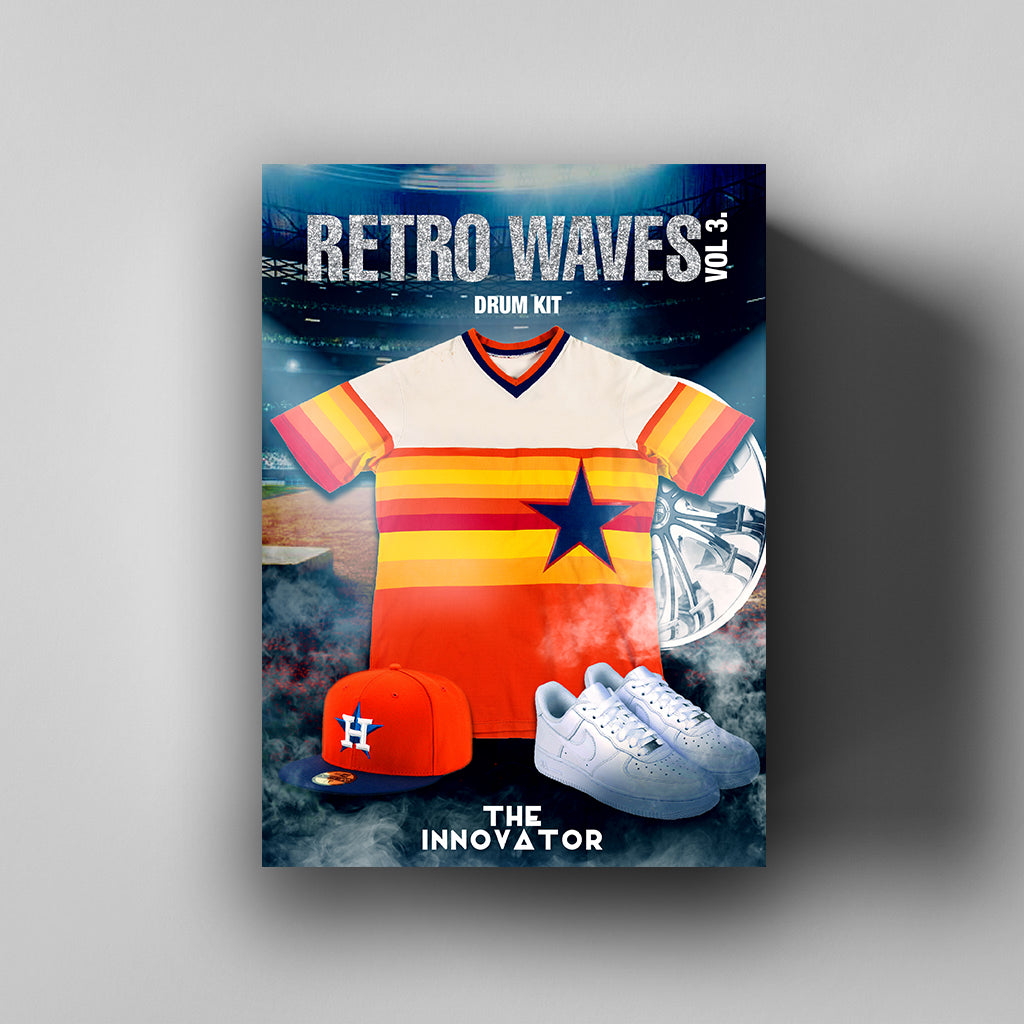 Retro Waves Vol. 3 Drum Kit - Iamtheinnovator.com