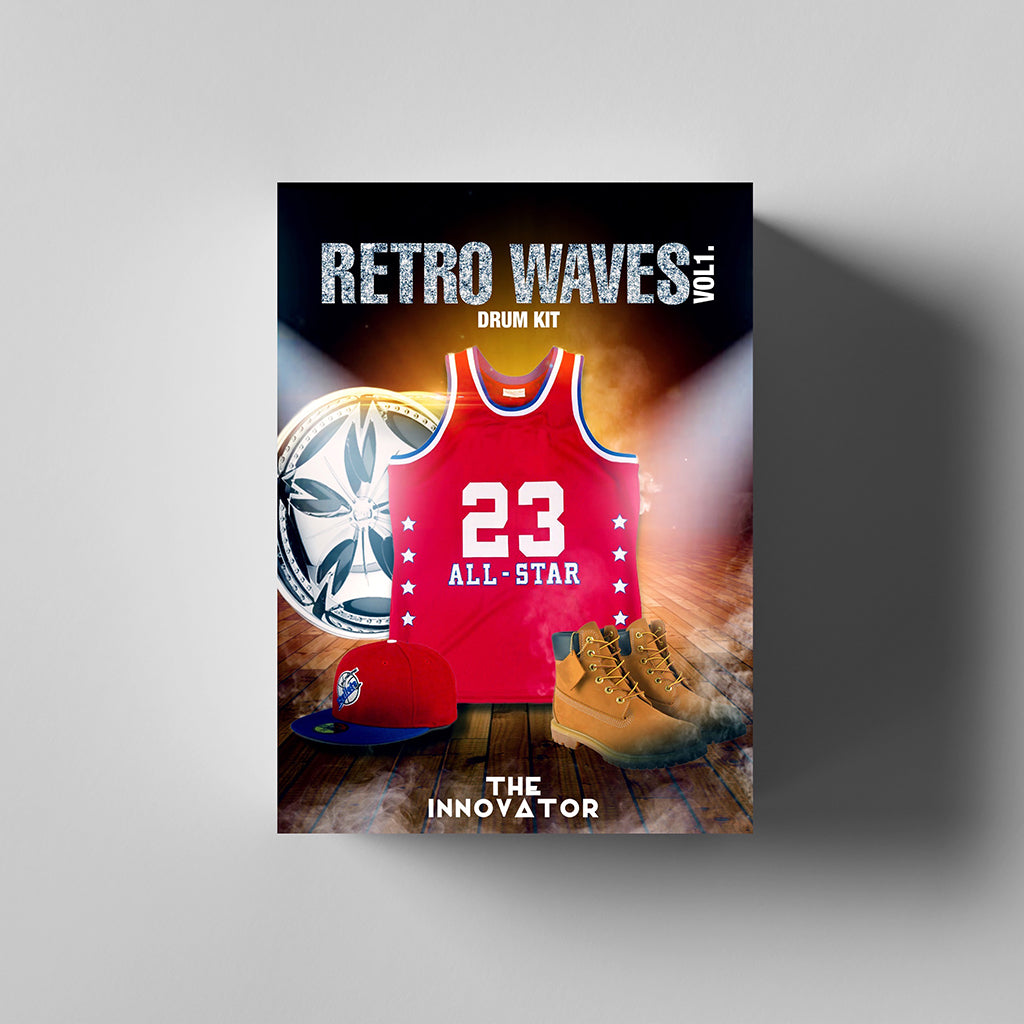 Retro Waves Vol. 1 | Boom Bap Drum Kit