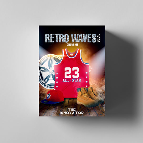 Retro Waves Vol. 1 Drumkit - Iamtheinnovator.com